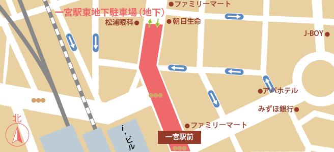 20170109一宮駅東地下駐車場