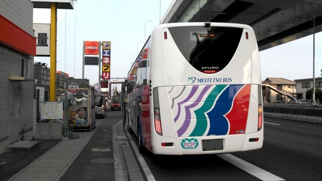 名神一宮の高速バス