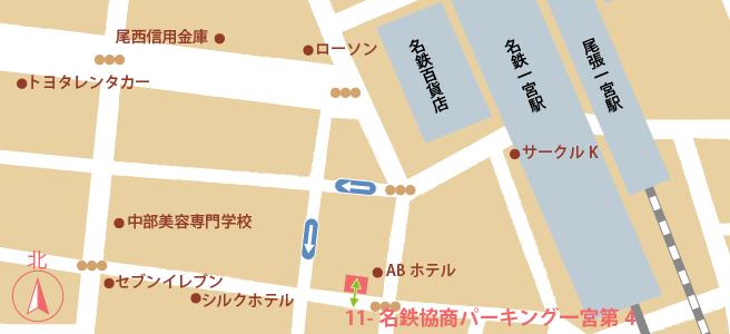 20170109名鉄協商パーキング一宮第4