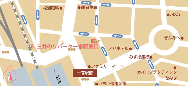 20170107三井のリパーク一宮駅東口