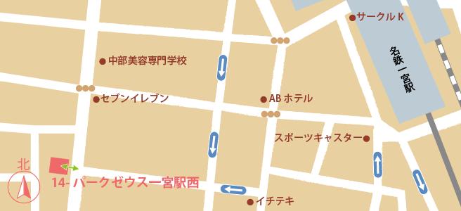 20161229パークゼウス一宮駅西