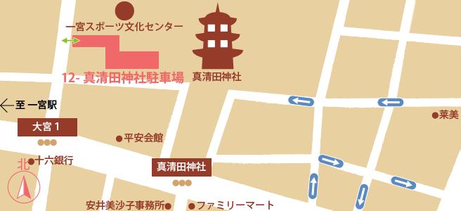 20170109真清田神社駐車場
