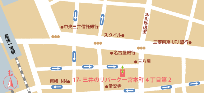 20170109三井のリパーク一宮本町4丁目第2
