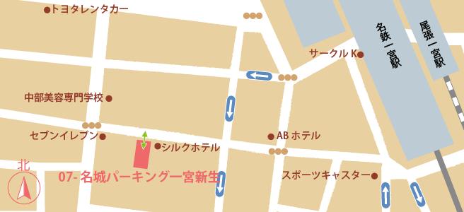 20170109名城パーキング一宮新生