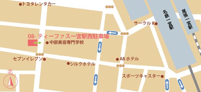 20170109ティーファス一宮駅西駐車場