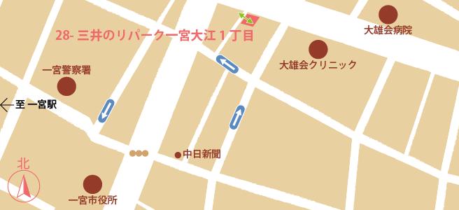 20161230三井のリパーク一宮大江1丁目