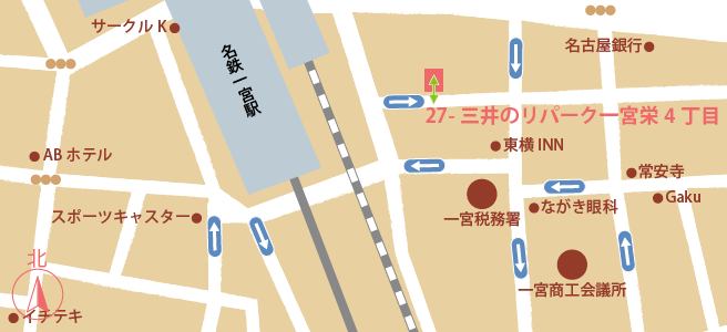 20170107三井のリパーク一宮栄4丁目