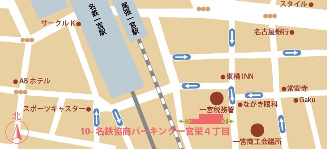 20170107名鉄協商パーキング一宮栄4丁目