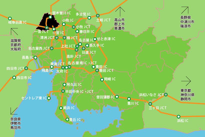 20150828高速道路網の広域図