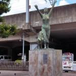 一宮駅前の織姫像