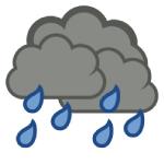 大雨による浸水にご注意ください