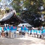 八幡神社の甘酒祭