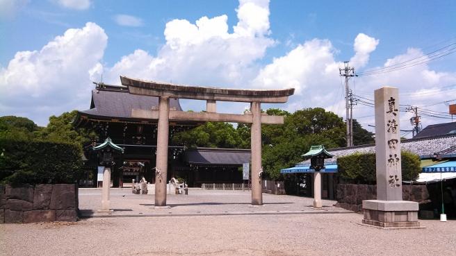 20131230真清田神社の初詣