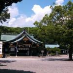 初詣の願掛けなら真清田神社。一宮市の中心市街地にある歴史的建造物です