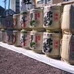 20140108真清神社の酒樽