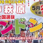 第48回全国選抜チンドン祭が2014年5月25日に萩原商店街で開催