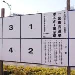 一宮市長選は2015年2月1日日曜が投票日です