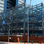 自走式立体駐車場の使用開始予定は2015年9月末日です