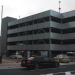 一宮市役所本庁舎すぐ横の自走式立体駐車場が利用開始