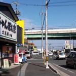 伝法寺通り。愛知県一宮市の通りを歩いたり走ったり