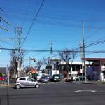 グルメ通り。愛知県一宮市の通りを歩いたり走ったり
