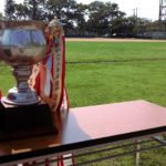 奥町公園で親善ソフトボール大会が開催