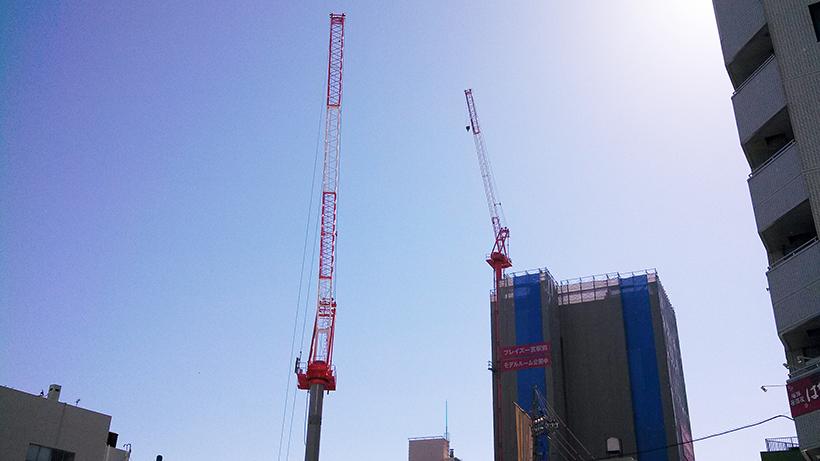 20161026一宮駅前のマンション建設