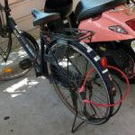 自転車の駐輪時はツーロックで防犯対策