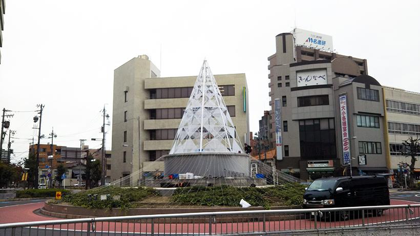 一宮駅のイルミネーション