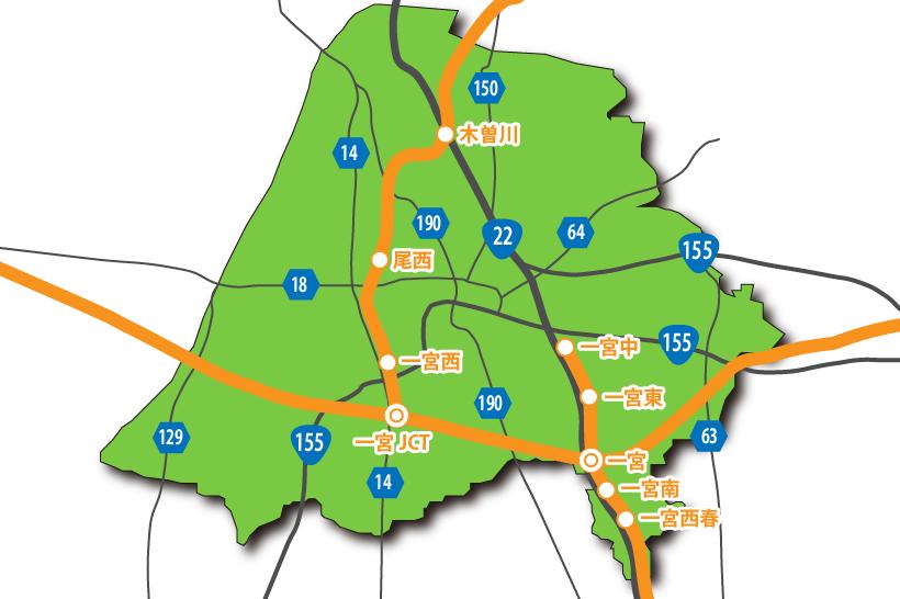 20150522高速道路と主要道路
