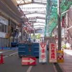 本町アーケードの撤去