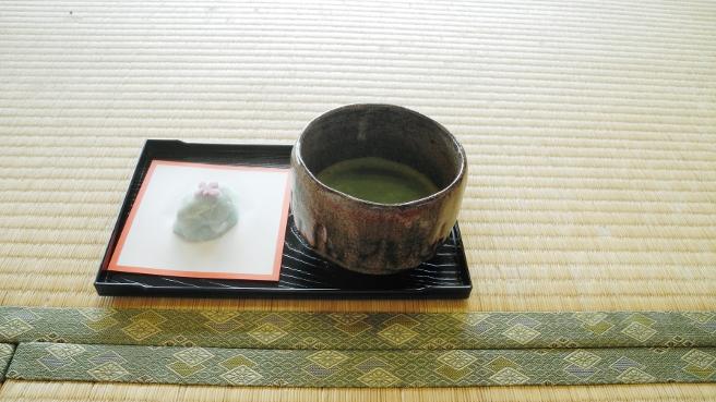 20140617花しょうぶ祭の抹茶