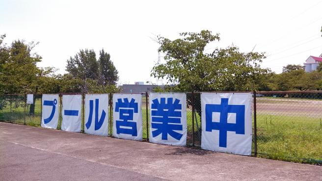 一宮総合運動場のプール