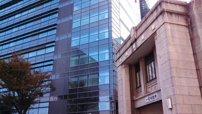 20131112新旧の一宮市役所
