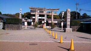 20140108真清神社の参拝順路