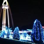 20141224ツインアーチのメリークリスマス