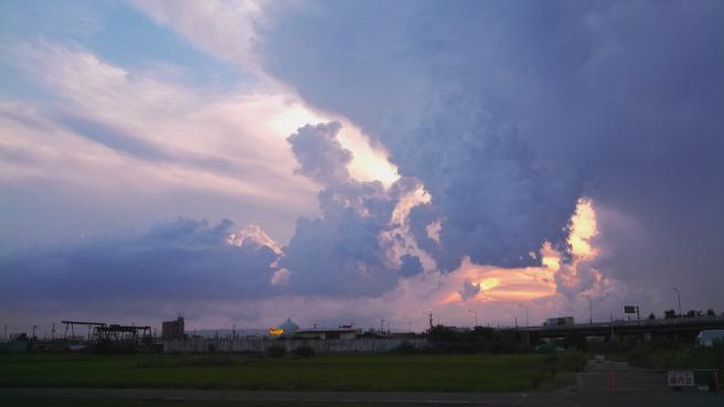 20150809突然の雷雨