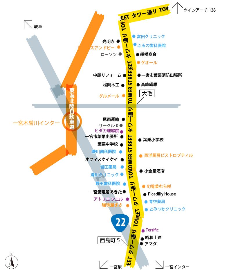 20160609タワー通り地図
