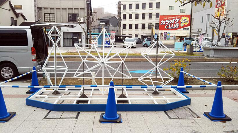 一宮駅のイルミネーション01